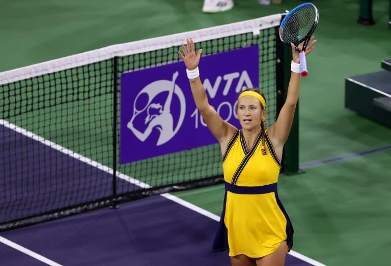 Watch Azarenka books spot in WTA Indian Wells closing – Google Tennis News