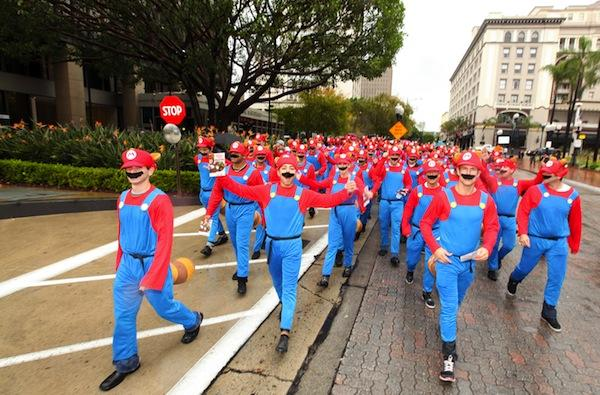 Caption Contest: Real-life Super Mario party searches for Princess Peach