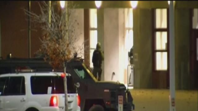 Denver police apprehend 2 inside empty school
