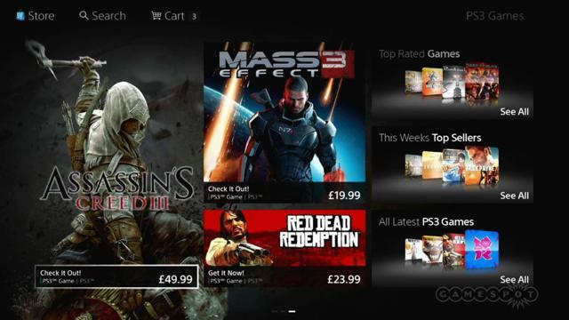 GS News - PlayStation Store Redesign