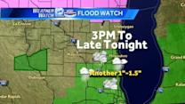 Line of storms to roll through Tuesday morning