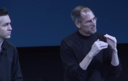 Video Flashback: Steve Jobs and Scott Forstall following the intro of the iOS SDK