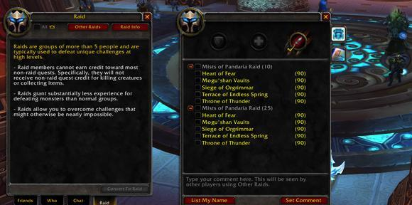 Clarifications on Cross-Realm raiding and Warlords' Group Finder