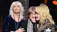 Linda Ronstadt makes rare public appearance to honor Dolly Parton at MusiCares Grammy gala