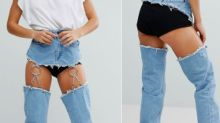 The first ridiculous jeans of 2018 have landed on ASOS