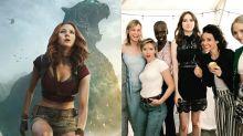 Karen Gillan reveals hidden secret behind 'ladies of Marvel' viral photo