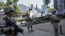 Latin American 'Oasis' Is Shaken by Worst Unrest in Decades