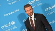 Adiós al bello David Beckham
