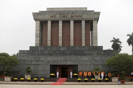 Image result for Vietnam says preserved corpse of Ho Chi Minh in great condition