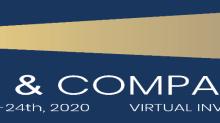 Sidoti:- Virtual Investor Conference.