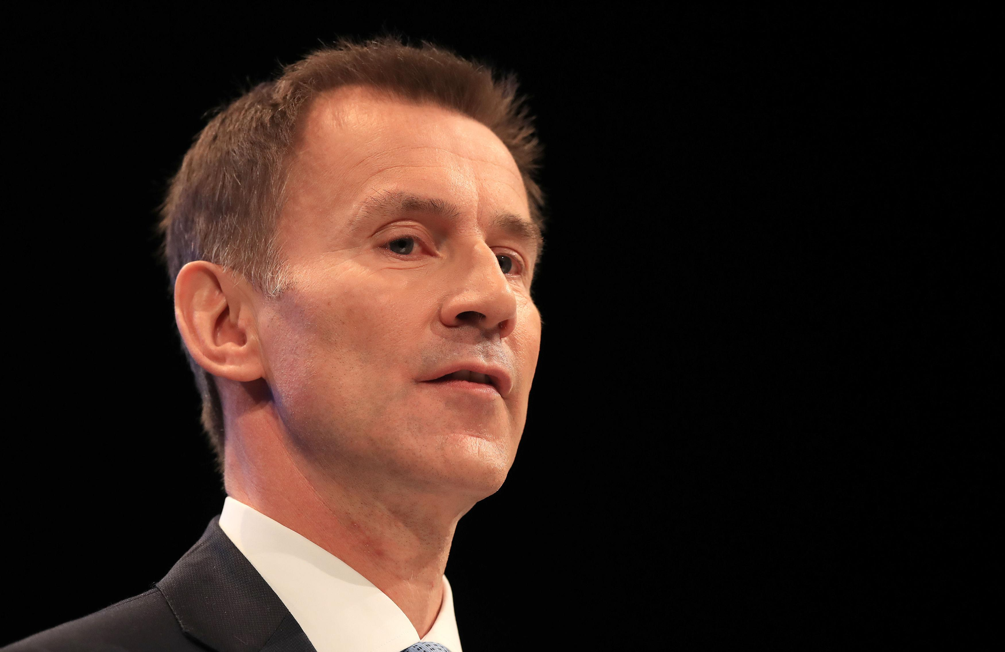 governme jeremy hunt accused - HD1280×831