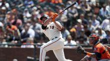 Giants hit 5 HRs, rough up Greinke, Astros 8-6