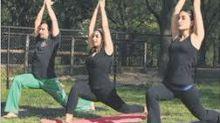 Meet Bollywood's yoga freaks!