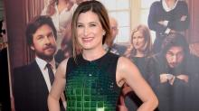 Kathryn Hahn Wears Ninja Turtle Couture at the 'This Is Where I Leave You' Premiere