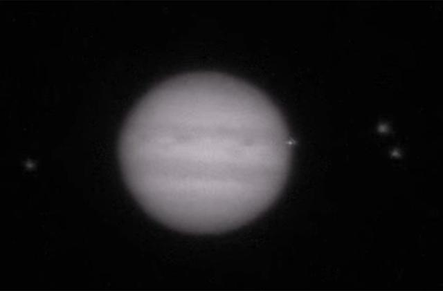 Amateur astronomers caught a Jupiter impact on camera