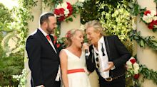 Brit couple thought Rod Stewart was a lookalike when he crashed their Las Vegas wedding