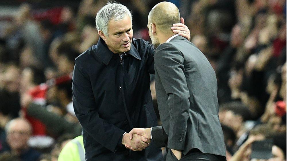 Guardiola presume de relación cordial con Mourinho