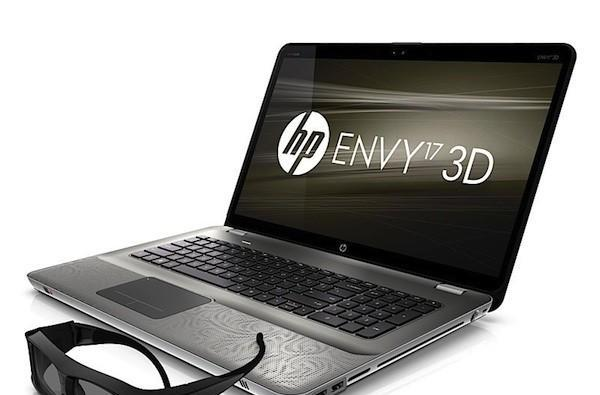 HP Envy 17 3D laptop now available starting at $1599
