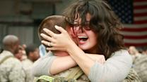 Marine captures emotional military homecomings