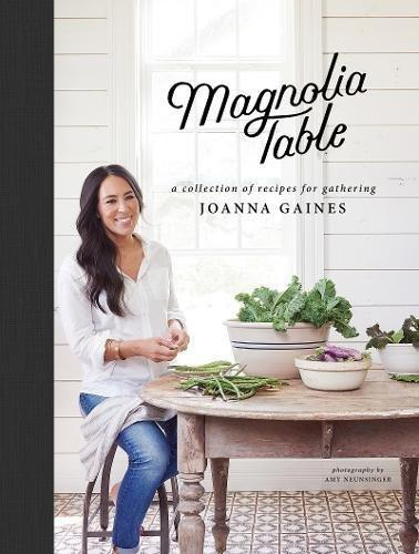 "<a href=""https://www.amazon.com/Magnolia-Table-Collection-Recipes-Gathering/dp/006282015X/ref=sr_1_1?ie=UTF8&qid=1522261711&sr=8-1&keywords=best+selling+cookbooks"" target=""_blank"">Magnolia Table: A Collection of Recipes for Gathering by Joanna Gaines</a>, $16.19"