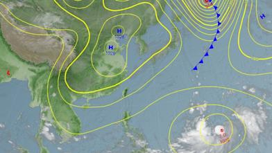 新颱最快今形成 恐影響台灣