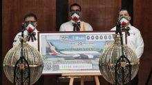 Estos son los números ganadores del sorteo de avión presidencial