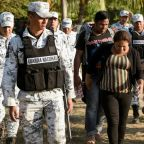 Mexico detained more than 2,000 after caravan border crossing