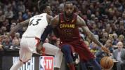LeBron's historic game halts Raptors in tracks