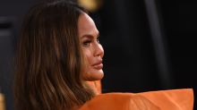 Chrissy Teigen has first shower in two months following pregnancy loss