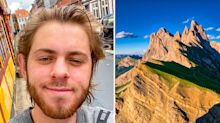 YouTuber dies falling from mountain while recording video
