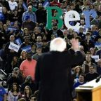 Sanders takes aim at Bloomberg as Washington state rally draws thousands