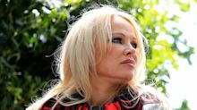 Pamela Anderson defends 'world's most innocent man' Julian Assange as she visits him in prison