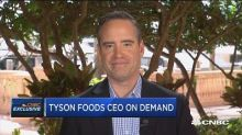 Tyson Foods CEO discusses growth plan