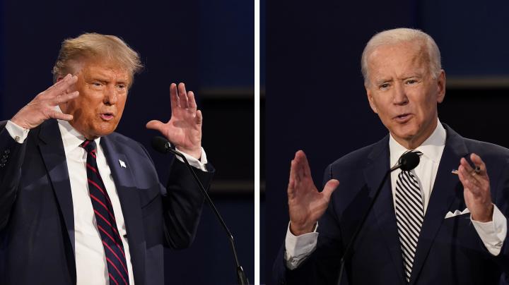 Live: Trump, Biden face off in final presidential debate