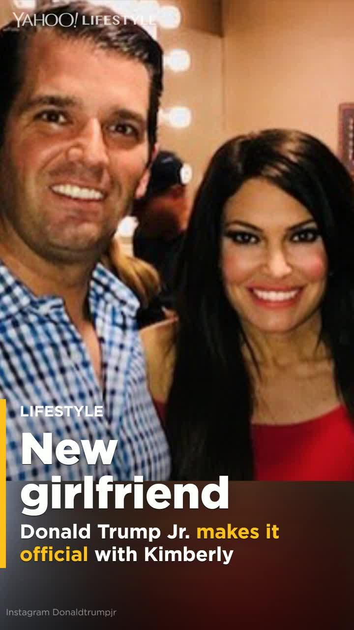 Donald Trump Jr Is Officially Dating Kimberly Guilfoyle Video