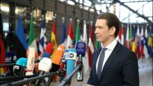 Österreichs Kanzler Kurz lehnt Macrons Eurozonen-Budget ab