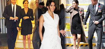 Why pregnant Meghan Markle has shorter hemlines