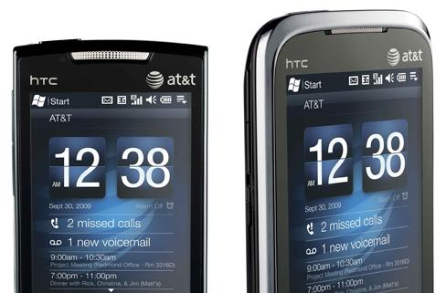 HTC Pure and Tilt 2 bring Windows Mobile 6.5 to AT&T