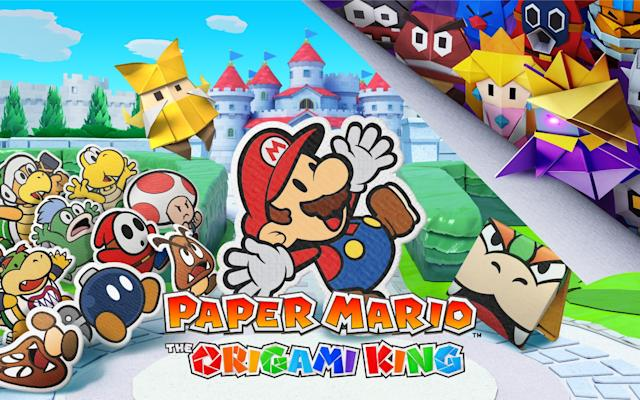 'Paper Mario: The Origami King' arrives on Nintendo Switch on July 17th