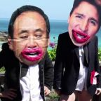 Semi-nude protesters: G7 leaders 'all mouth, no trousers'