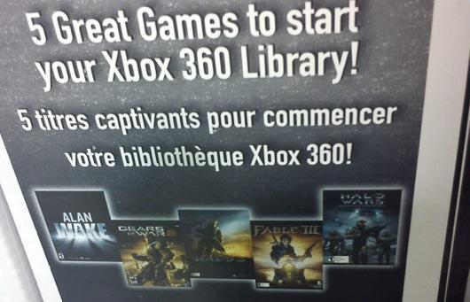 Xbox 250GB bundle throws in Alan Wake, Gears 2, and 3 more [update: Canada only]
