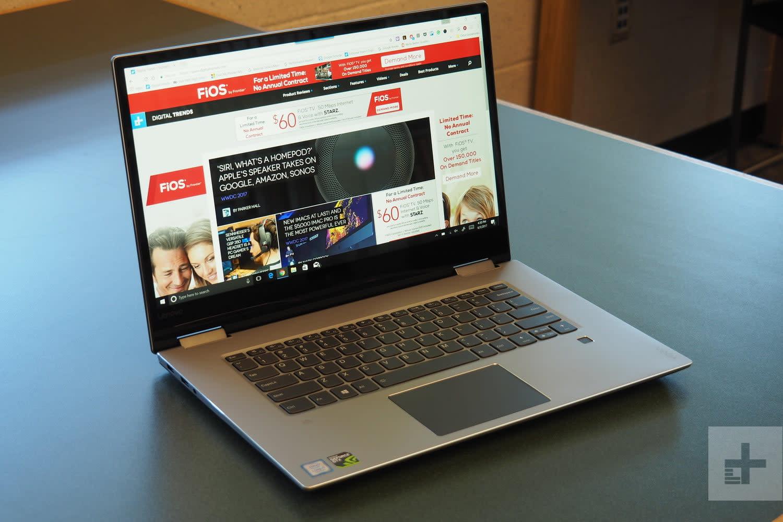 Acer Nitro 5 Spin vs  Lenovo Yoga 720 15
