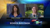 Bus driver called a hero in El Dorado County crash