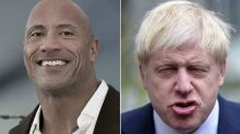 Dwayne Johnson swiftly backtracks on claim that he's 'Boris Johnson's cousin'