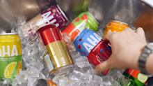 Coca-Cola makes 'big bet' on new caffeinated sparkling water brand