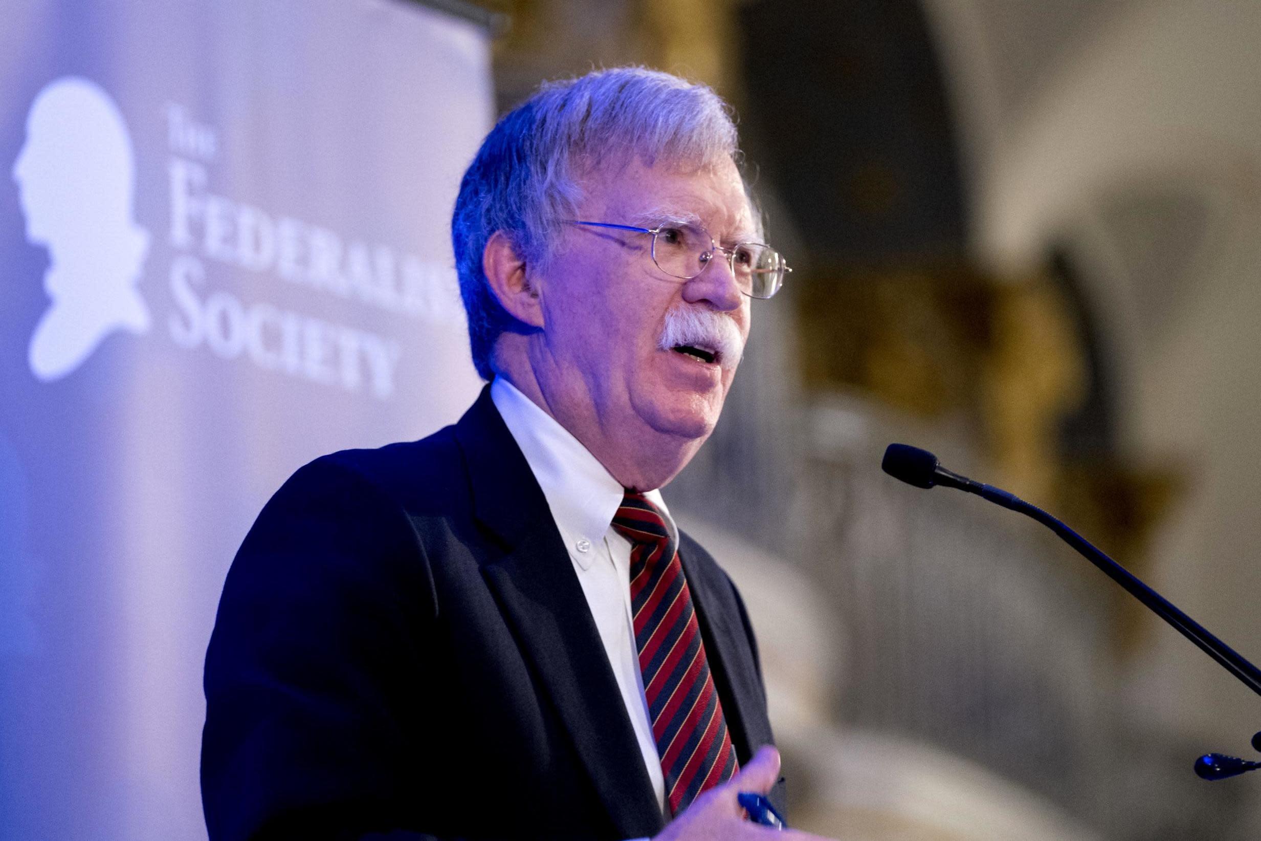 Trump official John Bolton declares International Criminal Court 'dangerous' and 'dead to' America