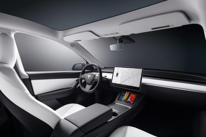 Model Y interior