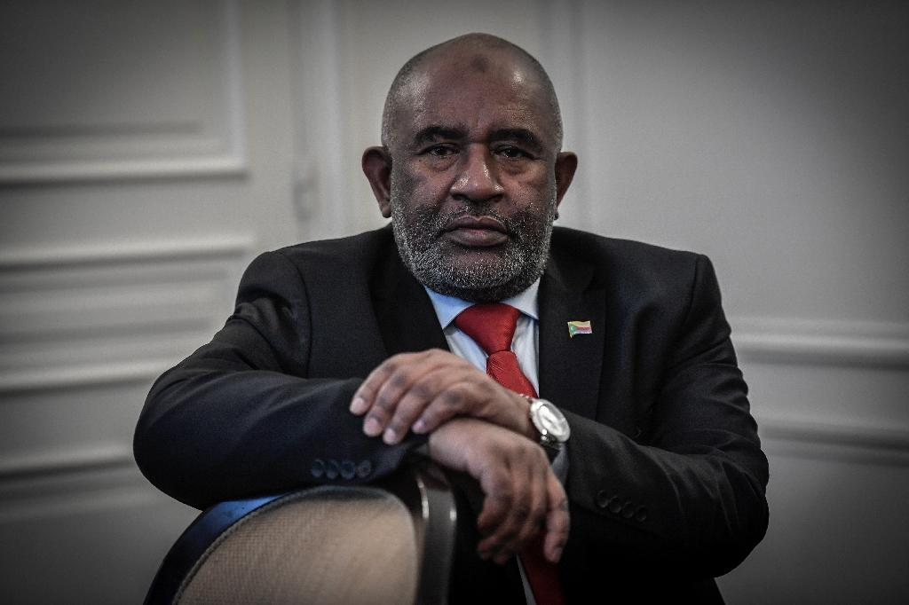 If Azali wins the elections, he will be starting his first term in office, under a controversial reform of the constitution (AFP Photo/STEPHANE DE SAKUTIN)