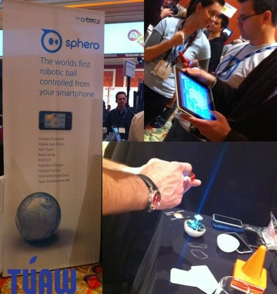 Hands-on with Sphero at the CES 2011