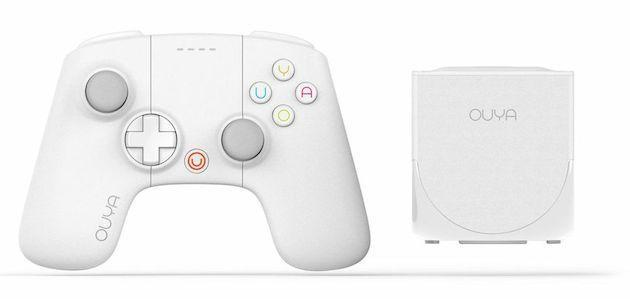 Ouya's new all-white console comes with double the storage
